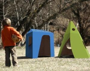Consciência social: Brincando de cabaninha