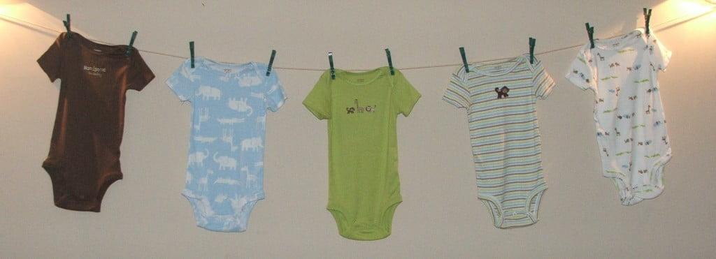 Ideia para decoração do chá de bebê