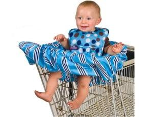 Indo ao supermercado com o pequeno
