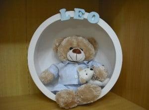"""Enfeite para porta de maternidade com tema """"urso"""""""