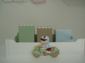 Meios de transporte na decoração do quarto