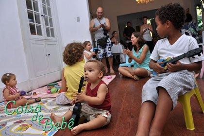 Samba para pais e bebês