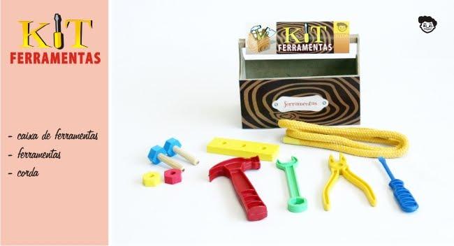 Kits de brinquedos para fugir do comum