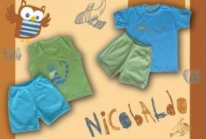 Pijamas da Nicobaldo com 40% de desconto