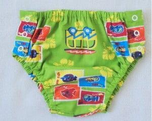 Tapa fraldas para o bebê ficar fresquinho no verão