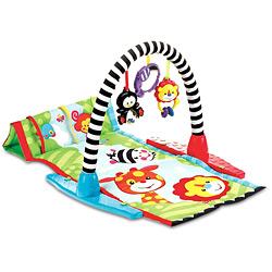 Tapete com brinquedos estimula a criatividade do filhote