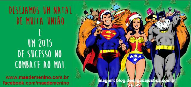 Feliz Natal e Feliz 2015 - Mae de Menino