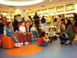 Contação de história - Saraiva Plaza Shopping