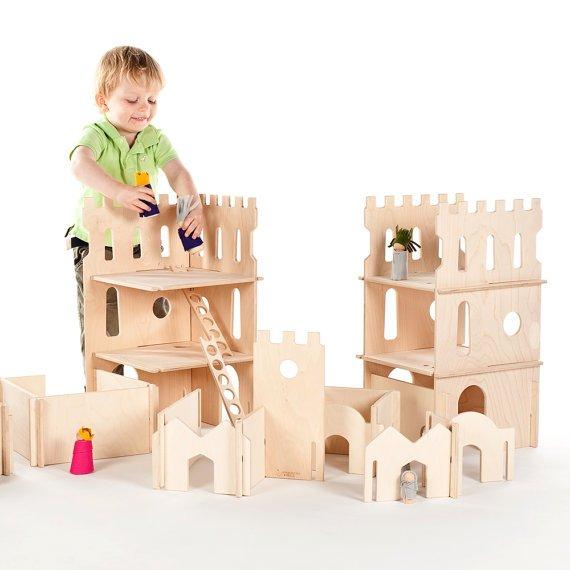 castelo de madeira - Monarquia