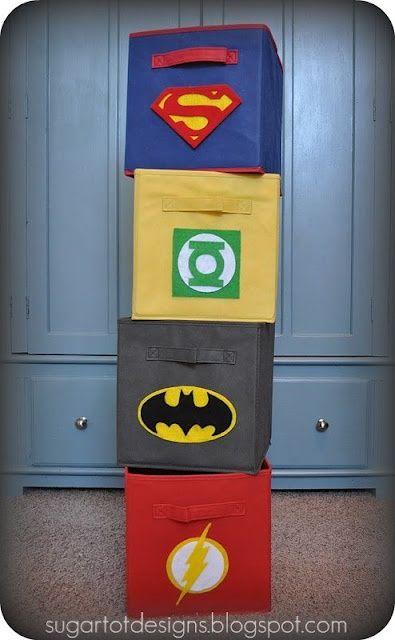 Cômoda de super herói