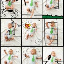 bebê esportista