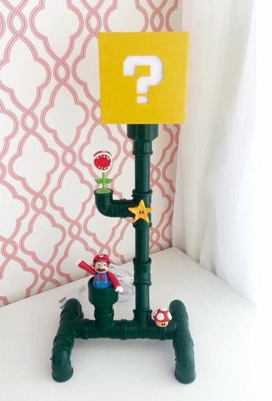 Luminária Mario Bros