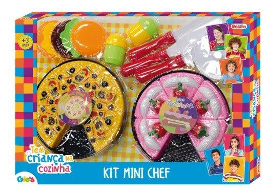 Kit Mini Chef Tem Criança na Cozinha
