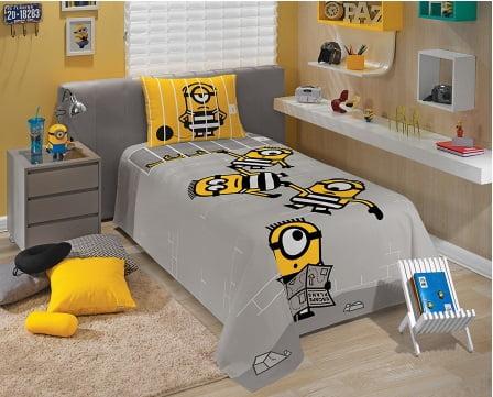 Jogo de cama Minions