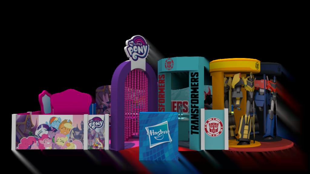 Américas Shopping promove brincadeiras com Transformers, My Little Pony e Mr. Potato Head