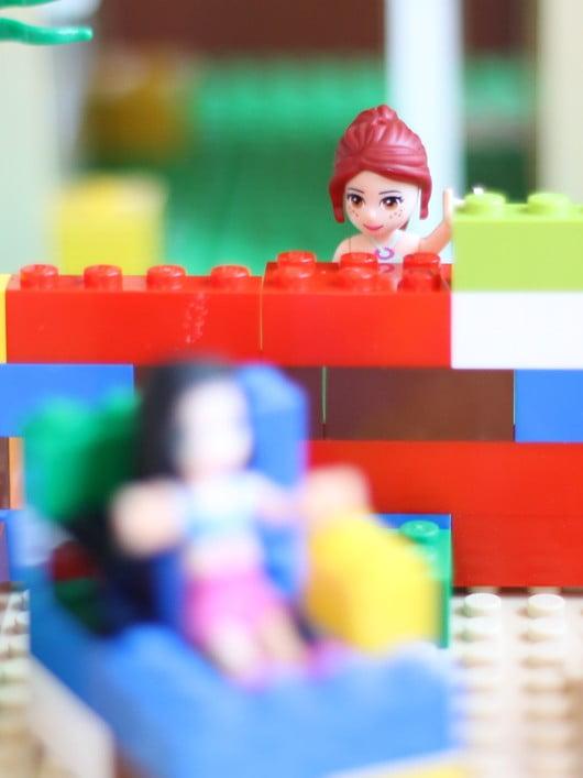 mesa para Lego