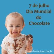 7 de julho dia mundial do chocolate