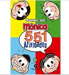 Turma da Mônica 551 atividades
