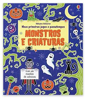 Livro de Atividades: Monstros e Criaturas