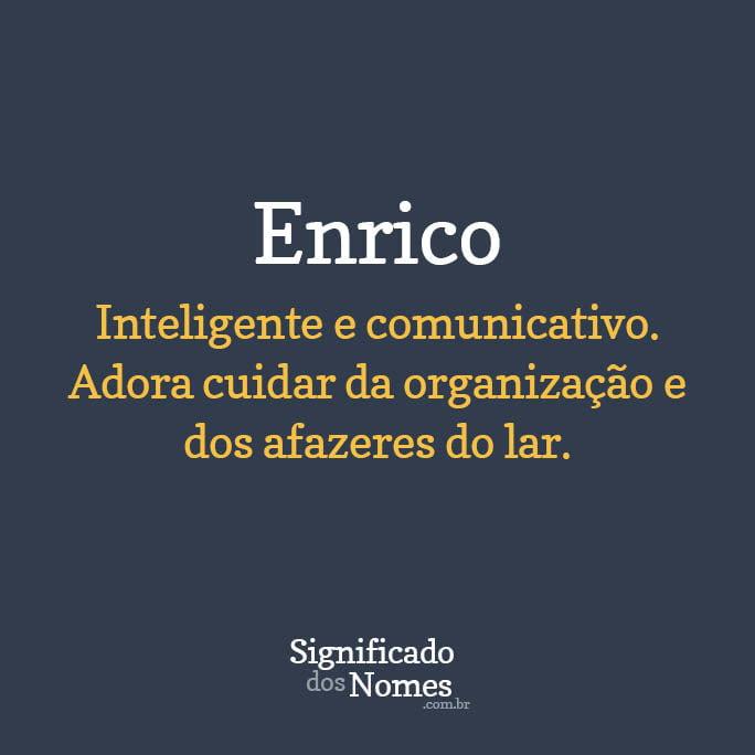 nome Enrico