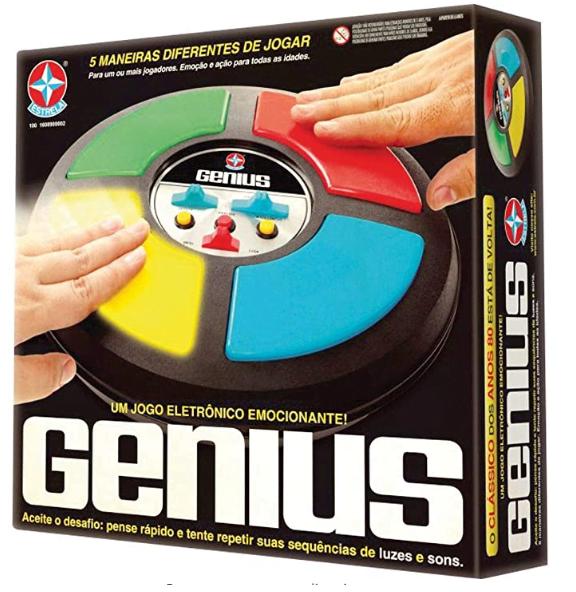 Jogos anos 80: Genius