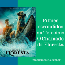 Filmes escondidos no Telecine O Chamado da Floresta