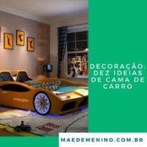 Decoração: dez ideias de cama de carro