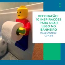 Decoração 10 inspirações para usar Lego no banheiro