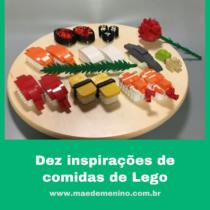 comidas de lego