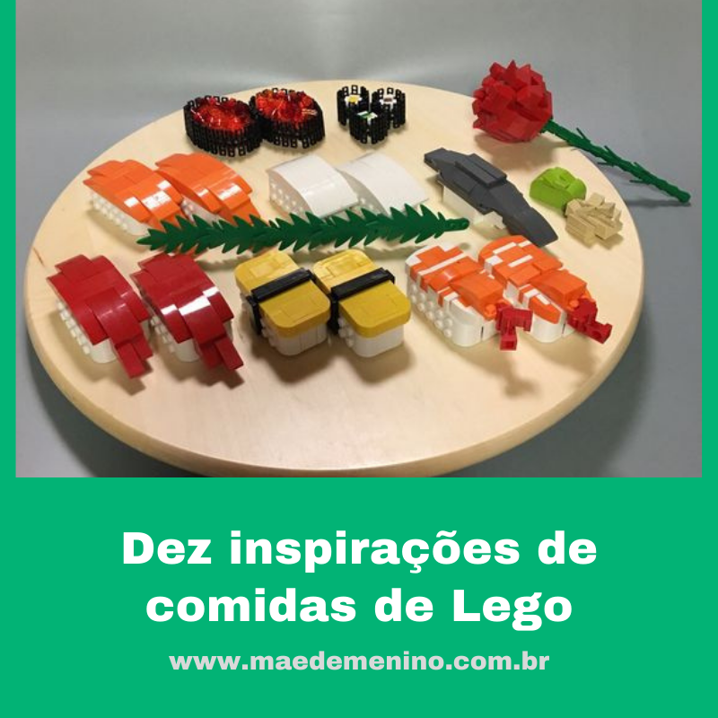 Dez inspirações de comidas de Lego