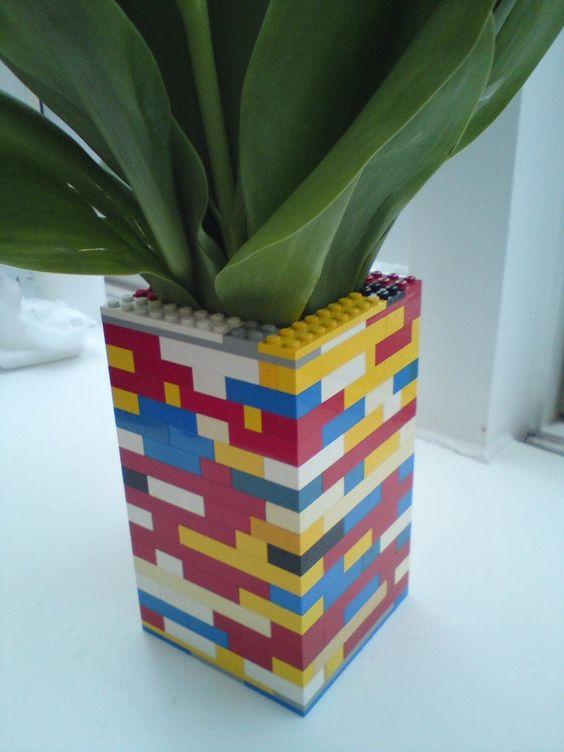 Vaso de Lego