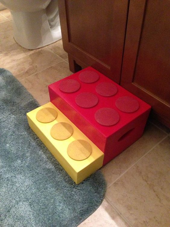 escadinha de lego