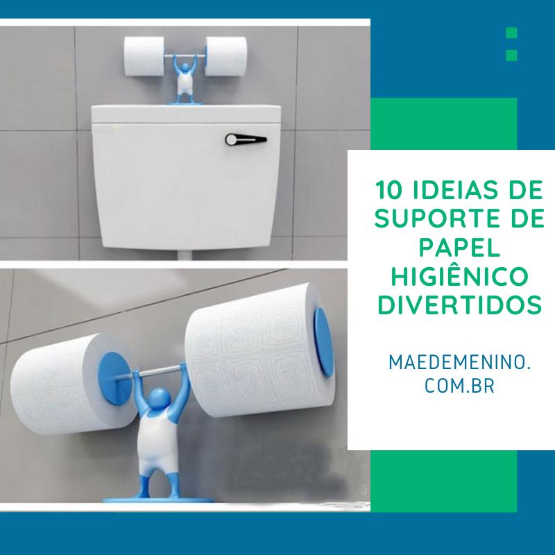 10 ideias de suporte de papel higiênico divertidos