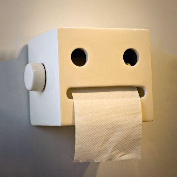 suporte de papel higiênico